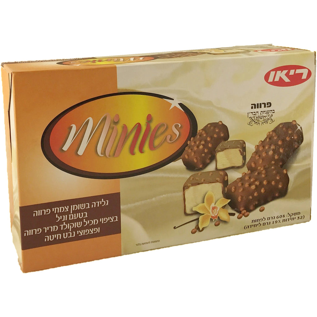Rio Minies Vanilla Crunch Ice Cream Bars 32 Pack 704G