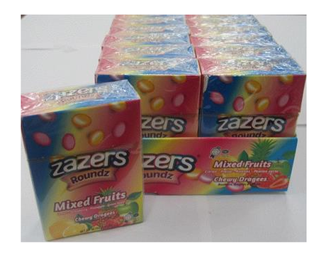 Zazers Flip Top Mixed Fruits 46G
