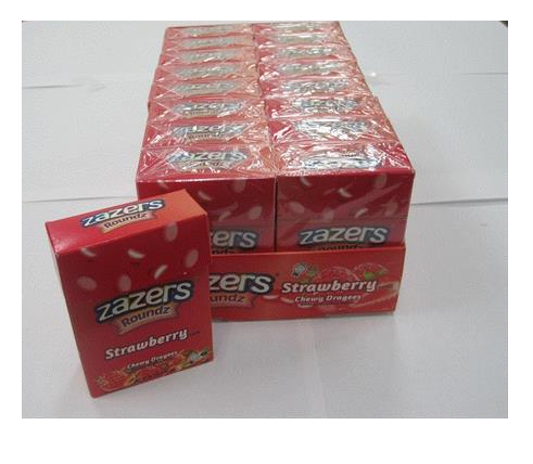 Zazers Flip Top Strawberry 46G