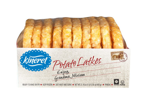Kineret Potato Latkes 10Pcs