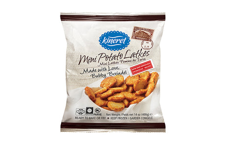 Kineret Mini Potato Latkes 400G