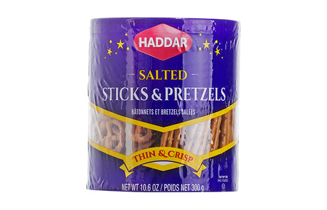 Haddar Pretzel Sticks And Mix 300G