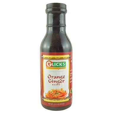 Glicks Sauce Orange Ginger 368G