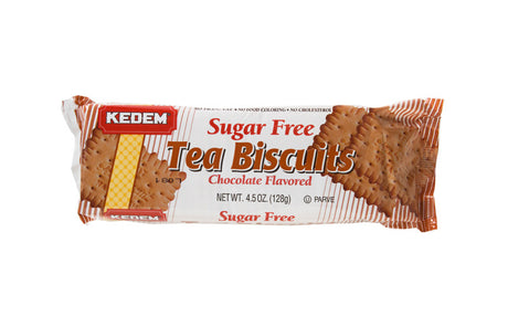 Kedem Tea Biscuits S/F Choc 128G