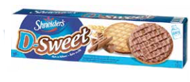 Shneiders D-Sweet Milk Choc Cookies