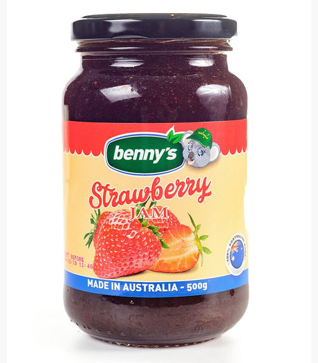 Benny's Strawberry Jam 500G