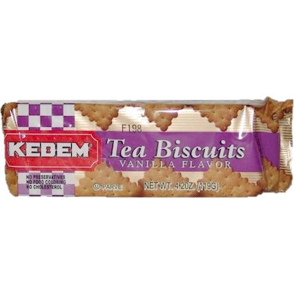 Kedem Tea Biscuits Vanilla 119G