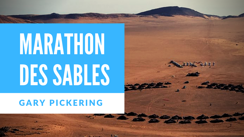 Finishing Marathon des Sables with Gary Pickering