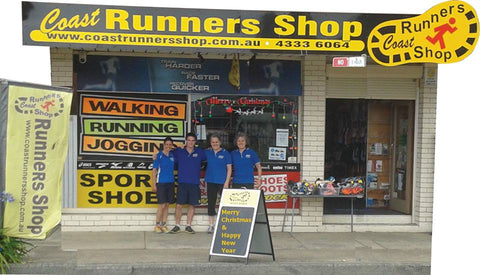 Margaret and the team outside The Coast Runners