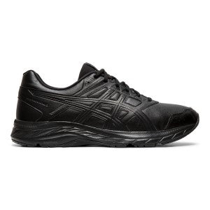 Mens Asics Gel-Contend 5 Synthetic Leather ( D Width )