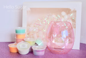 Wax Melt | Glass Burner - Glamour Skin & Body