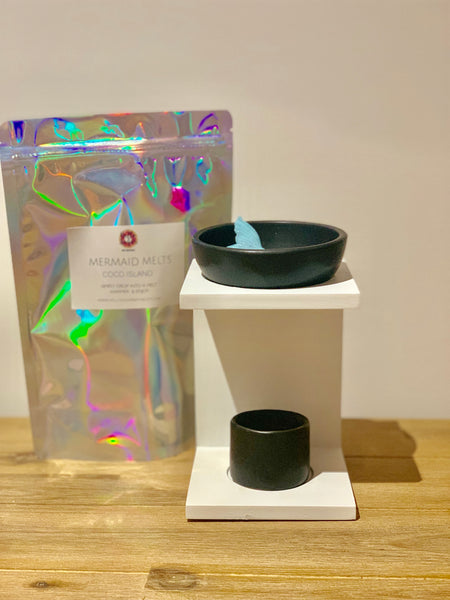 Wax Melt | Mono Chrome Burner - Glamour Skin & Body