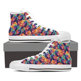 Rainbow Roses Women's High Tops