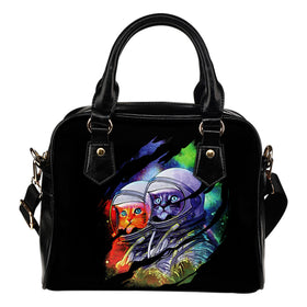 Space Cats Handbag - Phoenix Lifewear