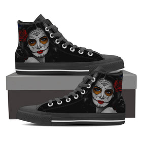 Calavera Womens High Tops II - Phoenix Lifewear