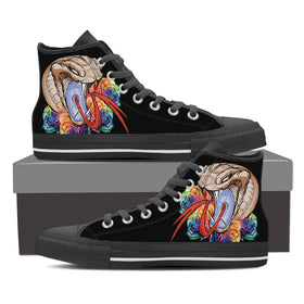 Snake Tattoo Women's High Tops - Phoenix Lifewear