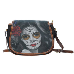 Tattoo Calavera Girl Saddle Bag III - Phoenix Lifewear