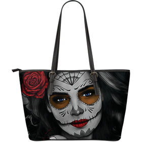 Tattoo Calavera Girl Large Tote III - Phoenix Lifewear