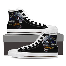 Skull Tattoo Women's High Tops - Phoenix Lifewear