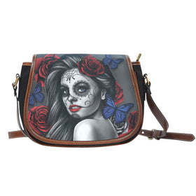 Tattoo Calavera Girl Saddle Bag - Phoenix Lifewear