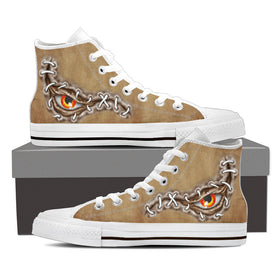 Dragon Eye Women's High Tops - Phoenix Lifewear