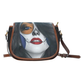 Tattoo Calavera Girl Saddle Bag II - Phoenix Lifewear