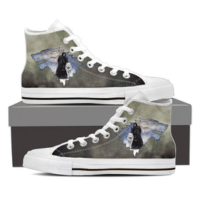 The Lord Of Winter Women's High Tops - Phoenix Lifewear