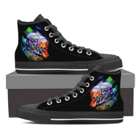 Space Cats Women's High Tops - Phoenix Lifewear