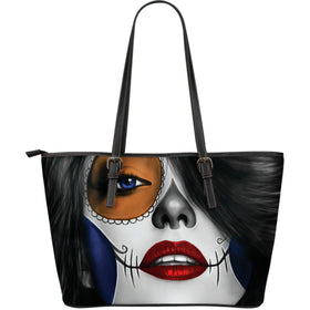 Tattoo Calavera Girl Large Tote II - Phoenix Lifewear