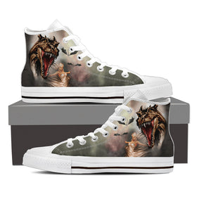 The Princess Of Dragons Women's High Tops - Phoenix Lifewear