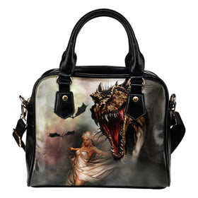 The Princess Of Dragons Handbag