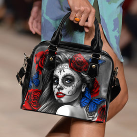 Tattoo Calavera Girl Handbag II - Phoenix Lifewear