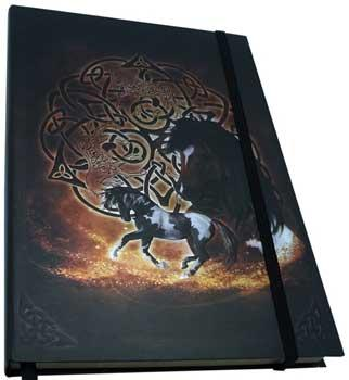 "5 1-2"" X 8"" Celtic Horse Journal"