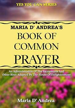 Book Of Common Prayer By Maria D'andrea