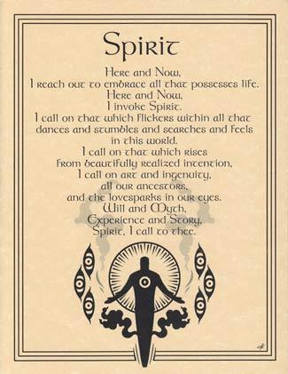 Spirit Invocation Poster