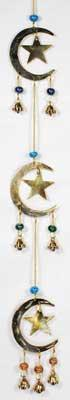 Stars And Moons Wind Chime
