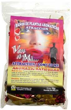 1 1-4oz Attraction ( Atraccion) Aromatic Bath Herb