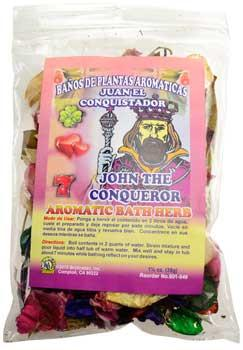1 1-4oz John The Conqueror(juan Conquistador)  Aromatic Bath Herb