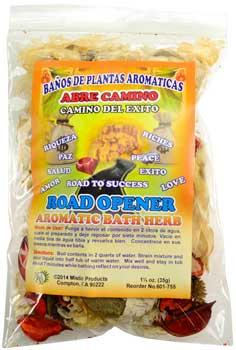 1 1-4oz Road Opener  (abre Camino) Aromatic Bath Herb