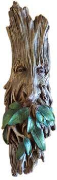 "14"" Greenman  Tree Spirit Plaque"