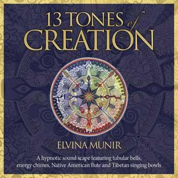 Cd: 13 Tones Of Creation By Elvina Munir