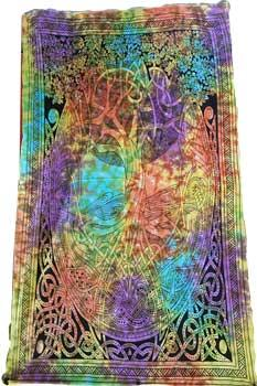 "54"" X 86"" Celtic Tree Tapestry"