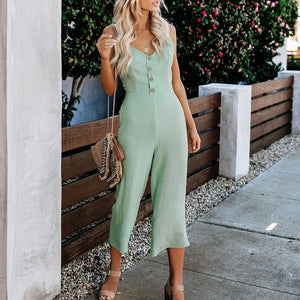 Chic Boutique Clothing Jumpsuits & Rompers V-neck playsuit