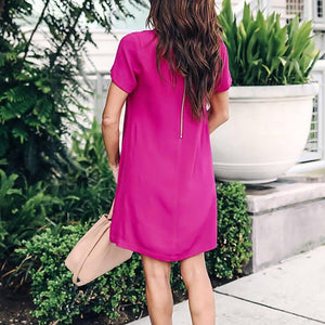 Chic Boutique Clothing Dresses Women Loose Casual Dress