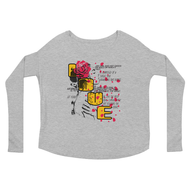 Love N Rose (Women/Flowy Long Sleeve)