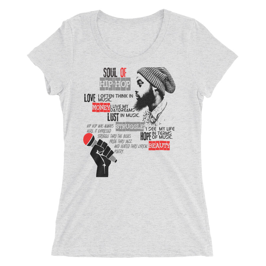 Hip Hop Soul (Women/Crew-Neck)