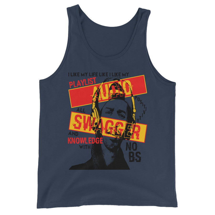 Audio Swagger (Men/Tank-Top)