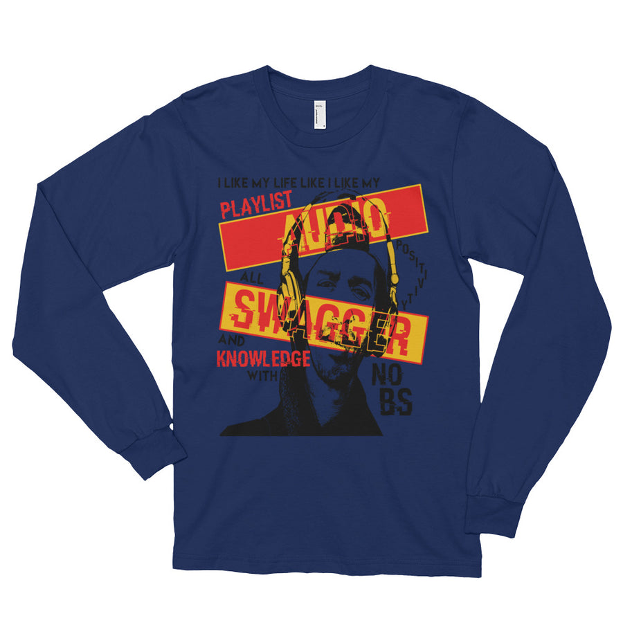 Audio Swagger (Men/Long Sleeve)