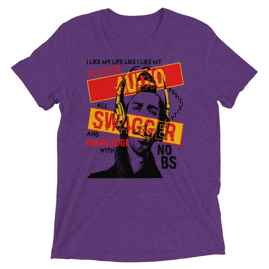 Audio Swagger (Men/Crew-Neck)