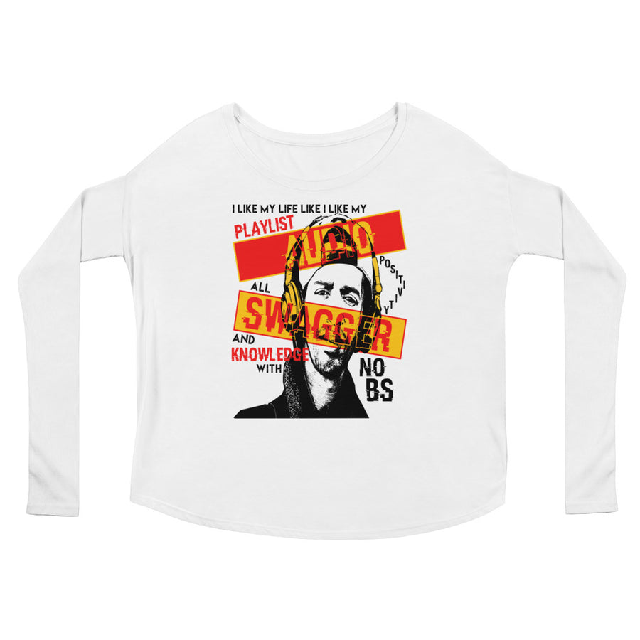 Audio Swagger (Women/Flowy Long Sleeve)